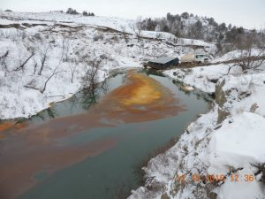 Belle Fourche Pipeline Leak, Dec. 10, 2016. Image Credit – Jennifer Skjod, N. Dakota Dept. of Health